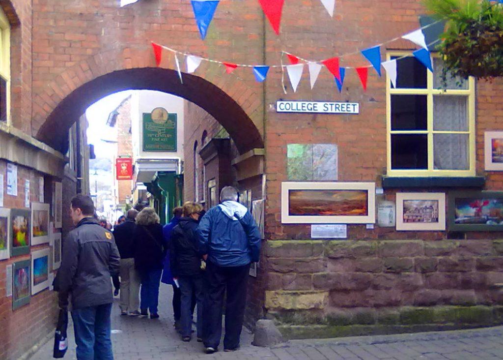 Gwendda exhibition in Church Street