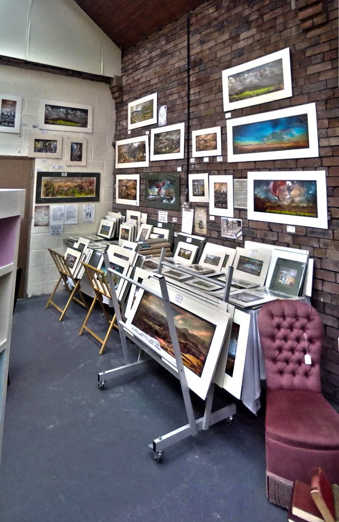 Ironbridge Arts and Antiques shop. Gwendda the Witch Photographer
