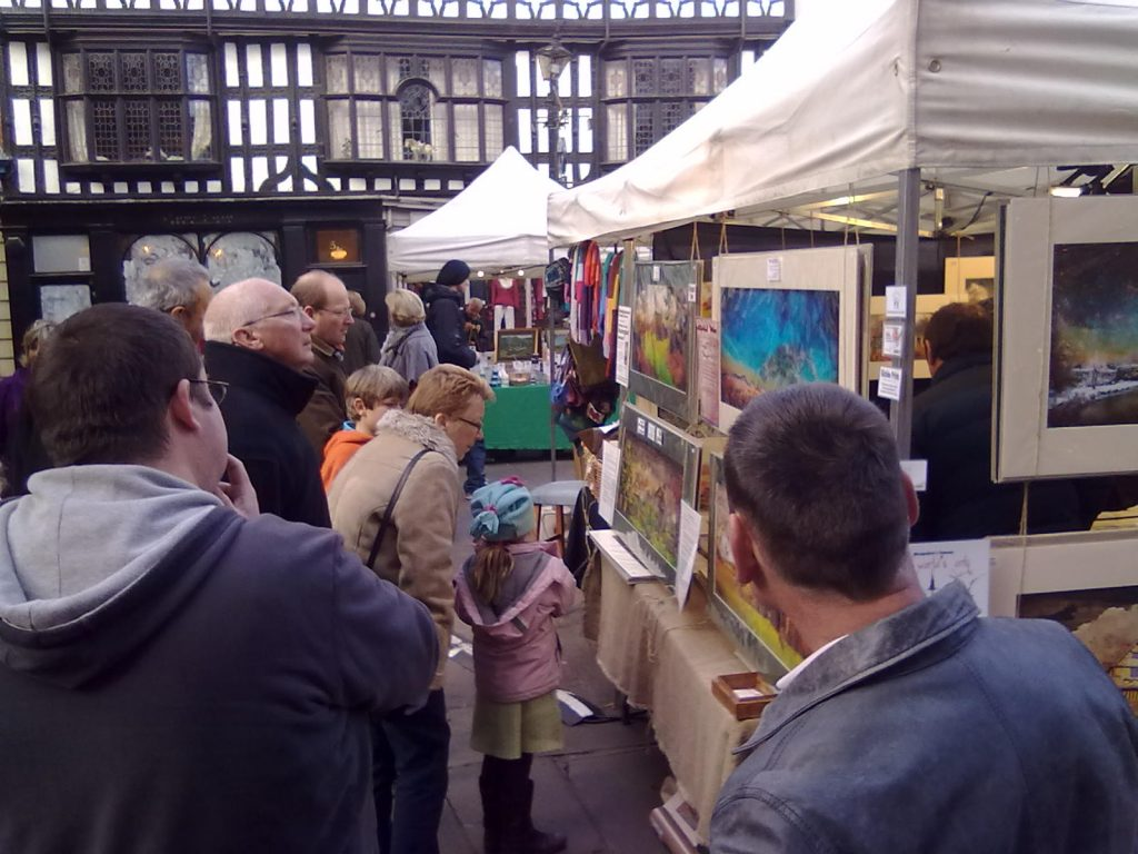 More fuss on the 'Made in Shropshire' market in Shrewsbury - Gwendda the Witch Photographer