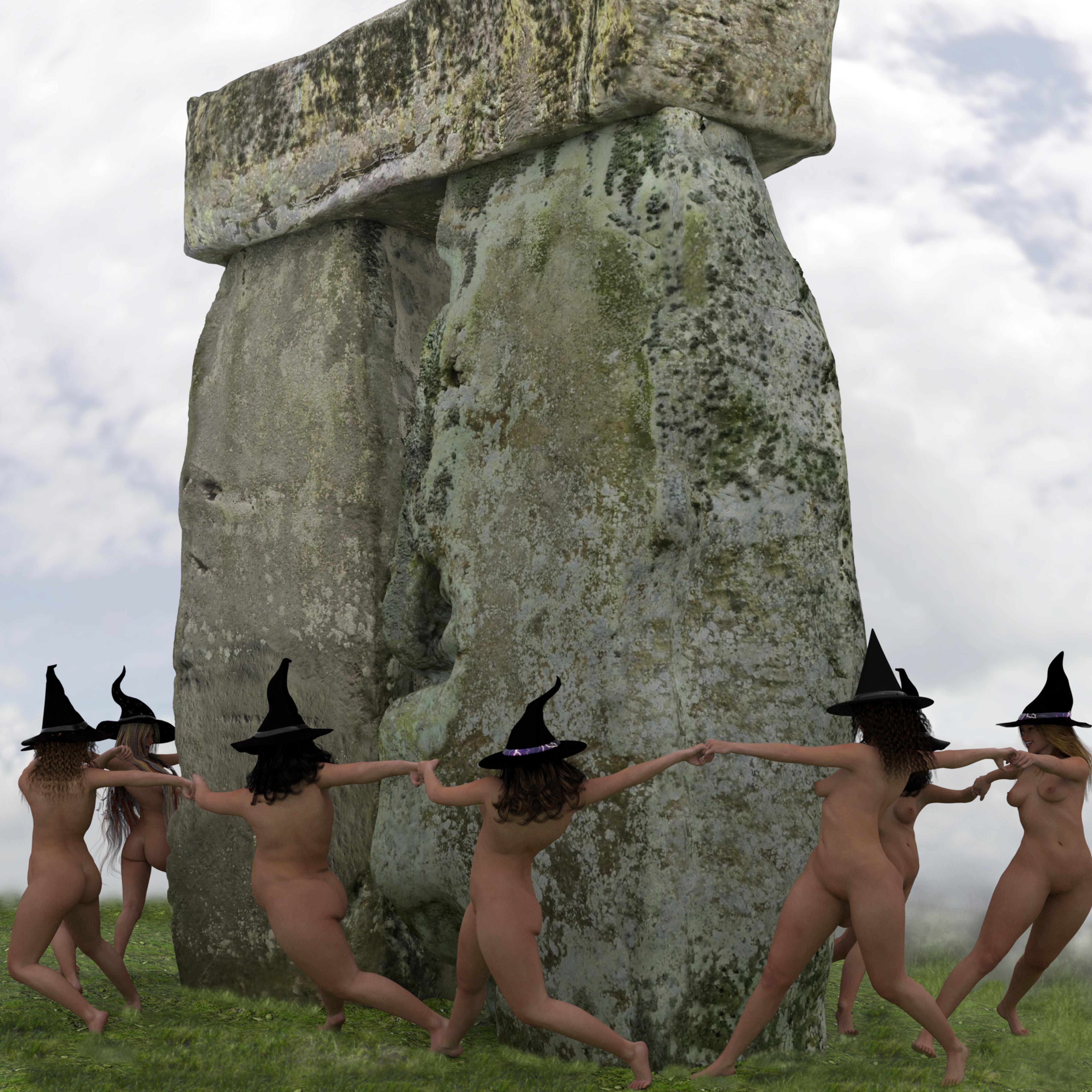 Buy Stonehenge Models: naked 003  - Stonehenge models - a byproduct - Stonehenge models - a byproduct