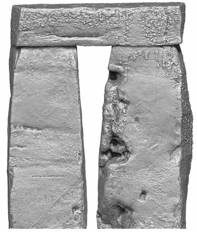 Stonehenge Trilithon Two inside view