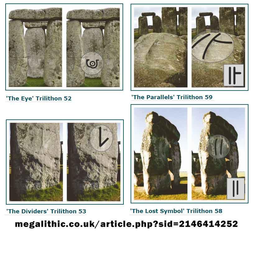 Buy Stonehenge Models: megalithic.co .uk article  - Trilithon Two - Our Stone, Stone 53 is here.