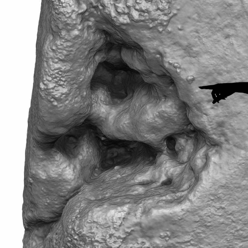 Buy Stonehenge Models: Stonehenge hole in Stone 54 1024x1024  - Trilithon Two - Trilithon Two
