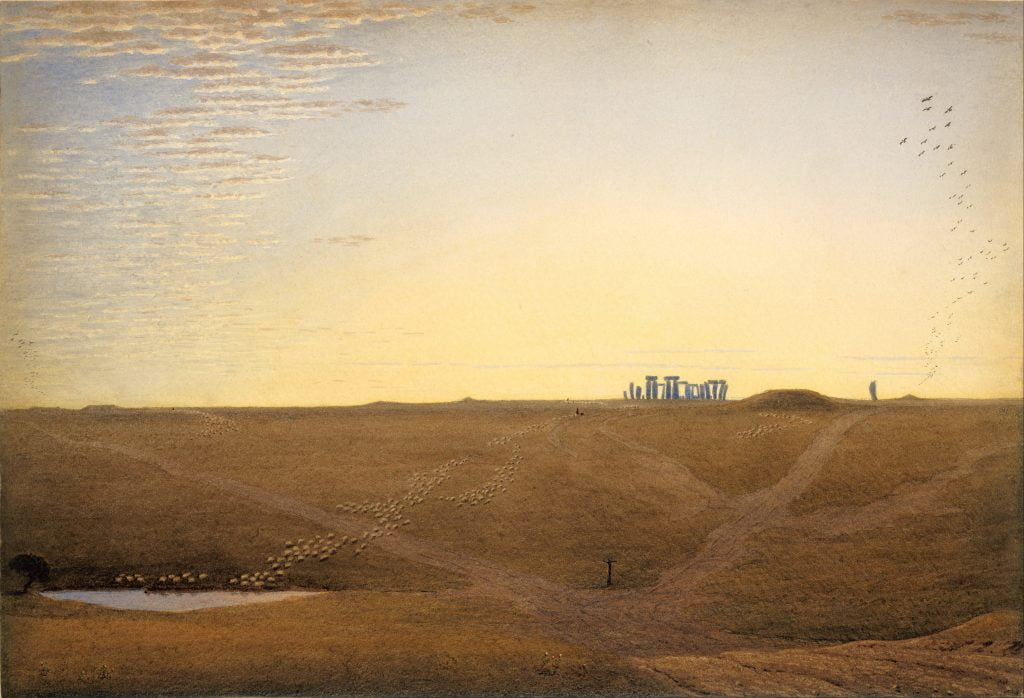 William Turner of Oxford - 'Stonehenge Twilight'