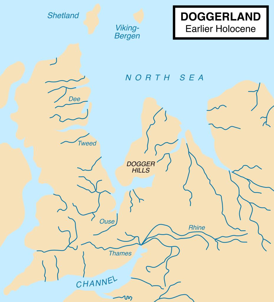 Buy Stonehenge Models: Doggerland approximately 11650 years before present after the last glacial period 930x1024  - Stonehenge - Stonehenge