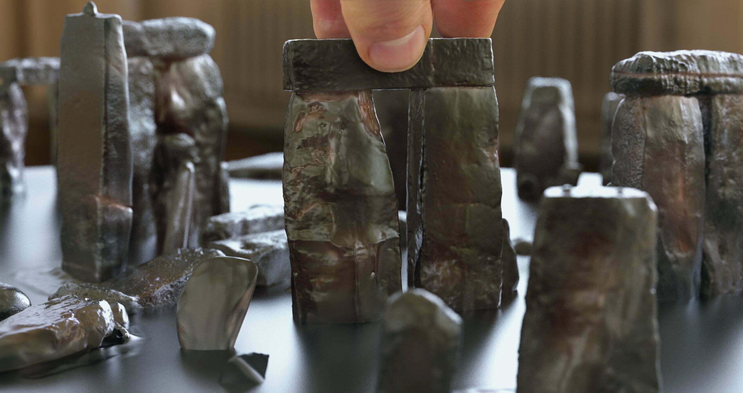 Buy Stonehenge Models: 76th scale newer4 scaled  - 76 and 35th scale models of Stonehenge - 76 and 35th scale models of Stonehenge