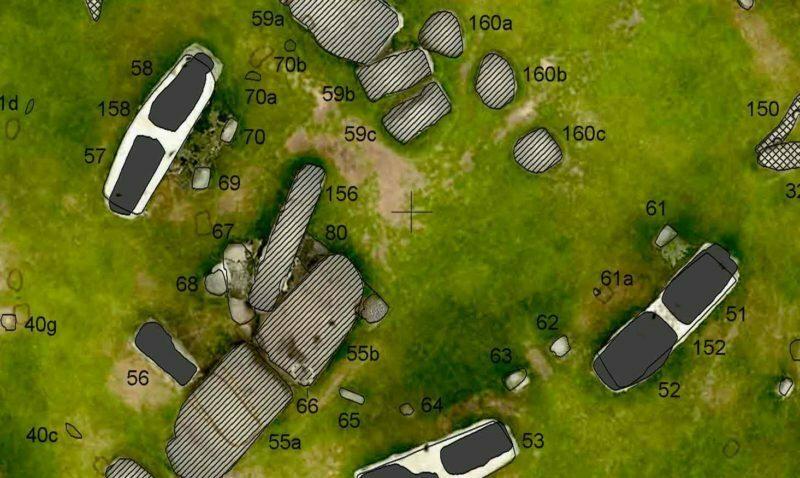 Buy Stonehenge Models: close up of the large map 800x478  - Large map - Large map