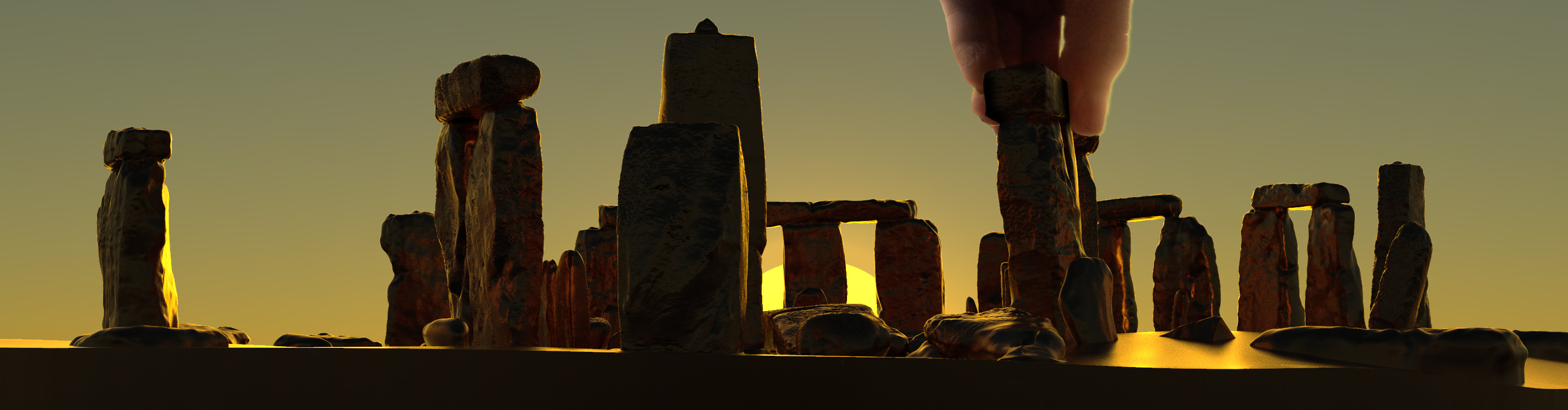 Buy Stonehenge Models: summer solstice sunrise 76th scale  - Meticulous - Meticulous