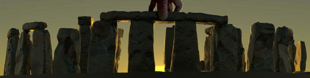 Buy Stonehenge Models: winter solstice sunset 35th scale 1024x259  - 76 and 35th scale models of Stonehenge - 76 and 35th scale models of Stonehenge