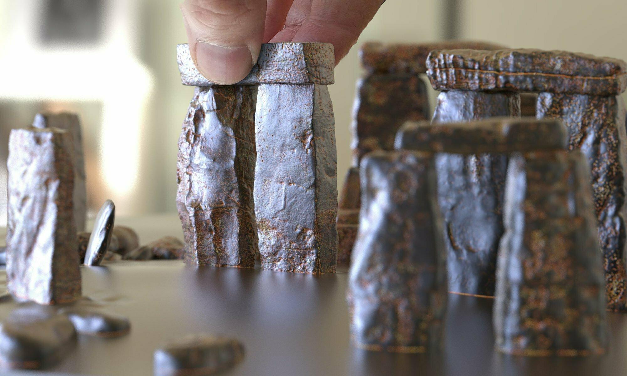 Stonehenge models & pictures