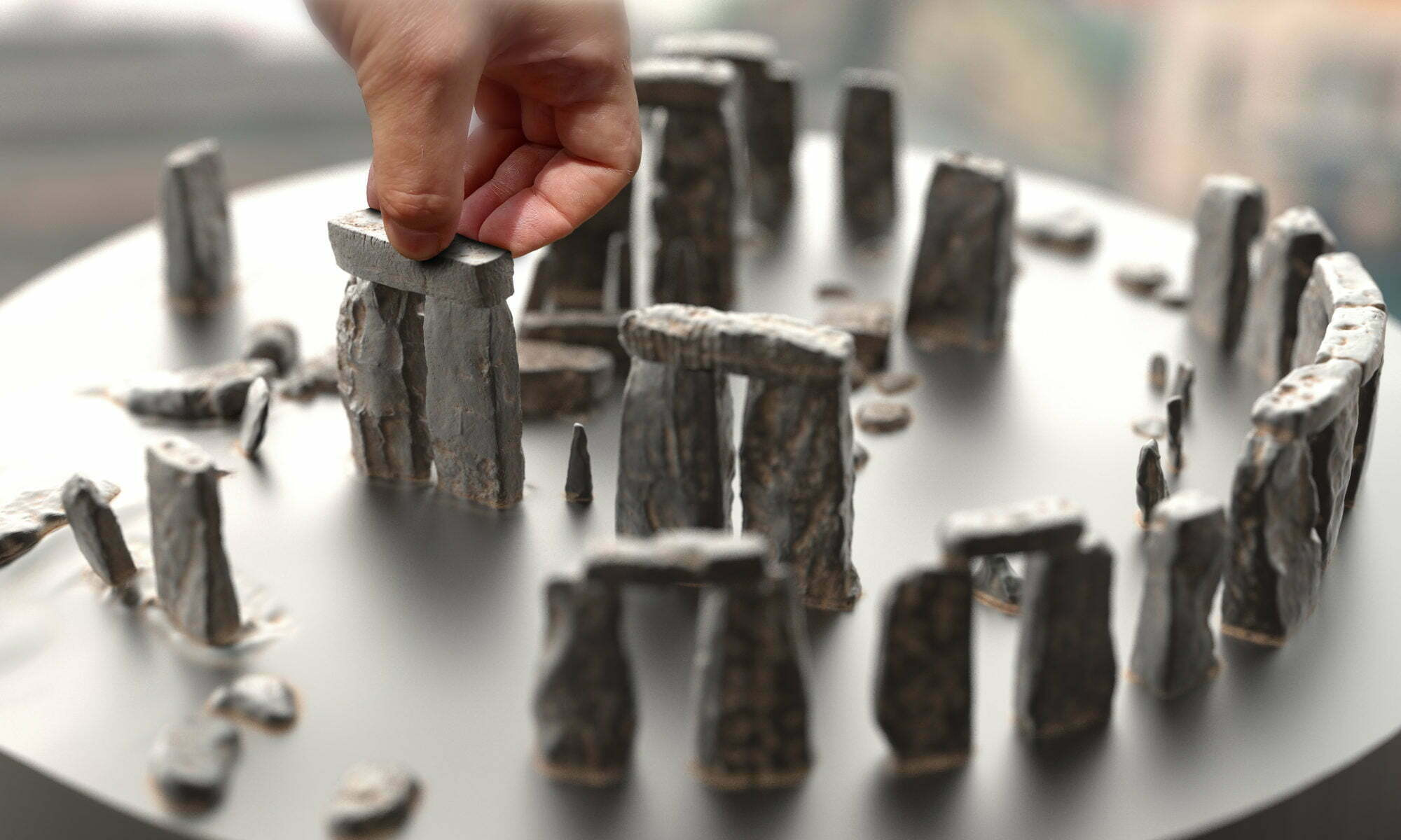 Buy Stonehenge Models: office back t2 stone 54 2000x1200  - 76th renders - 76th renders