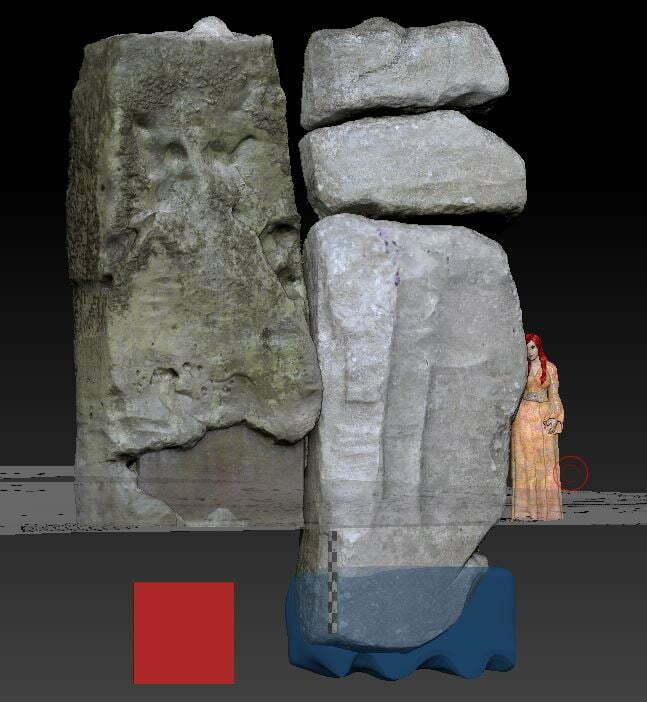 Buy Stonehenge Models: front  - Stonehenge Stone 59 reconstruction -