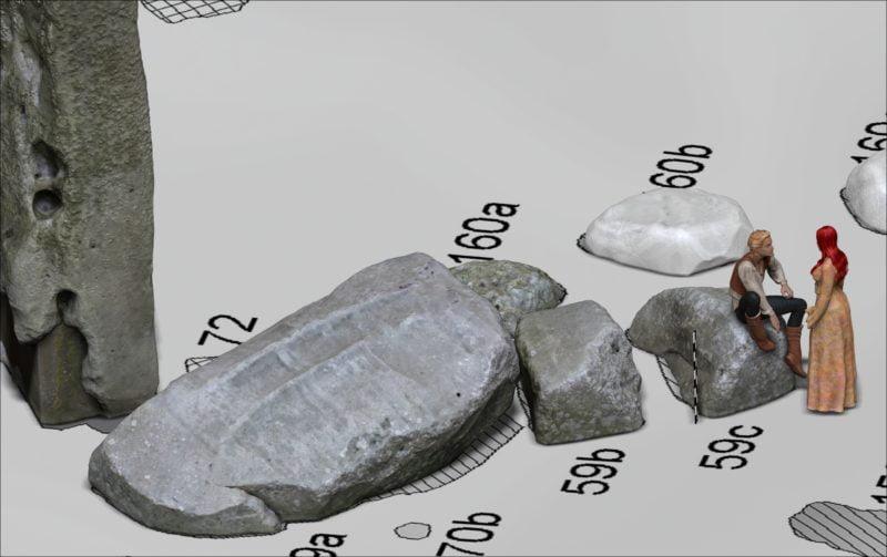 Buy Stonehenge Models: man princess 800x503  - Stonehenge Stone 59 reconstruction - Stonehenge Stone 59 reconstruction