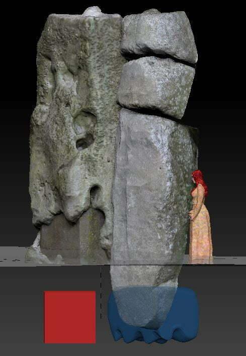 Buy Stonehenge Models: xx  - Stonehenge Stone 59 reconstruction -