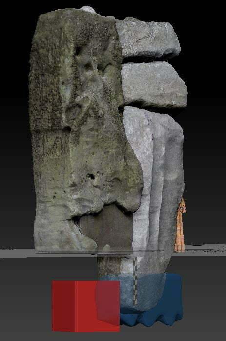 Buy Stonehenge Models: xxx  - Stonehenge Stone 59 reconstruction -
