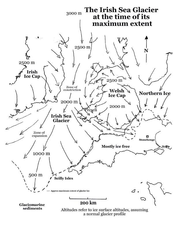 Buy Stonehenge Models: I Sea Glacier2  - Any bluestones from the north? -