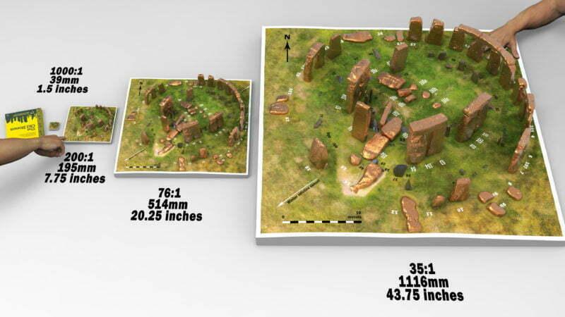Buy Stonehenge Models: diff scales Camera 2.75 800x450  - Four model sizes - Four model sizes