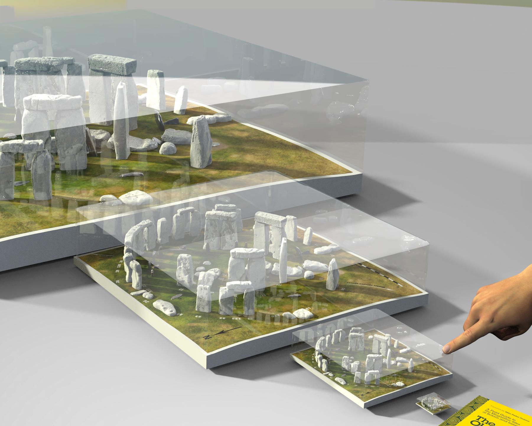 Buy Stonehenge Models: glass case.78 tighter  - Four model sizes -