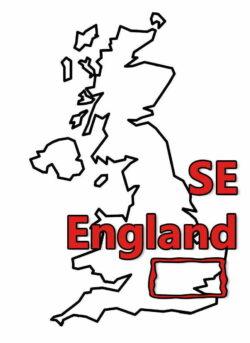 Buy Stonehenge Models: uk map 0001 se england 250x343  - SE England - SE England