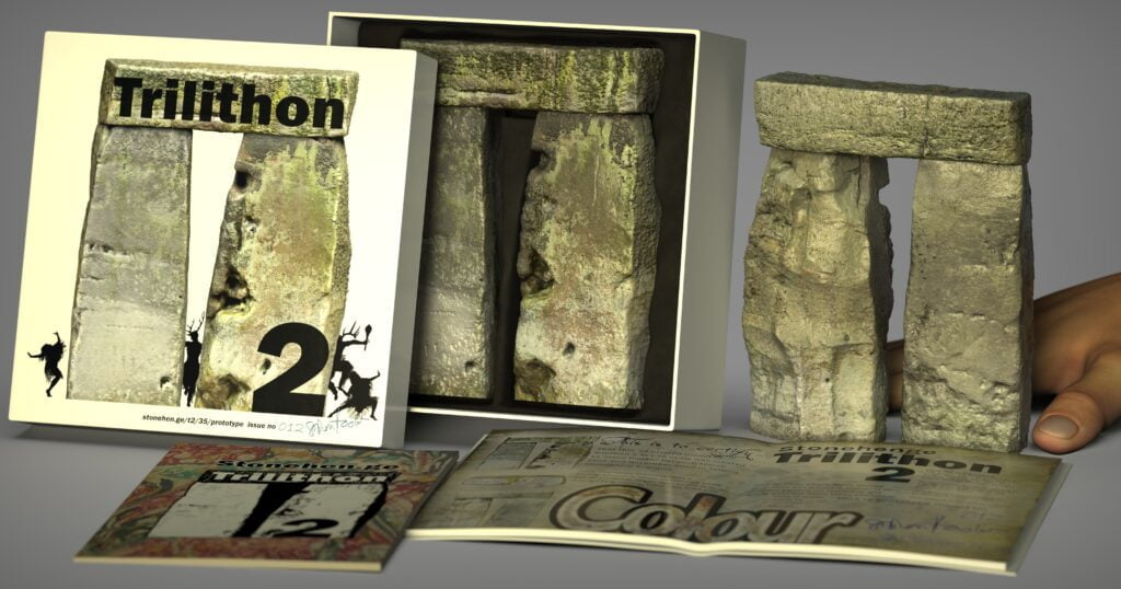 Buy Stonehenge Models: Stonehenge trilithon two model box set 35th scale with booklet long crops. shamen 1 1024x538  - 35th scale full colour pack shots - 35th scale full colour pack shots