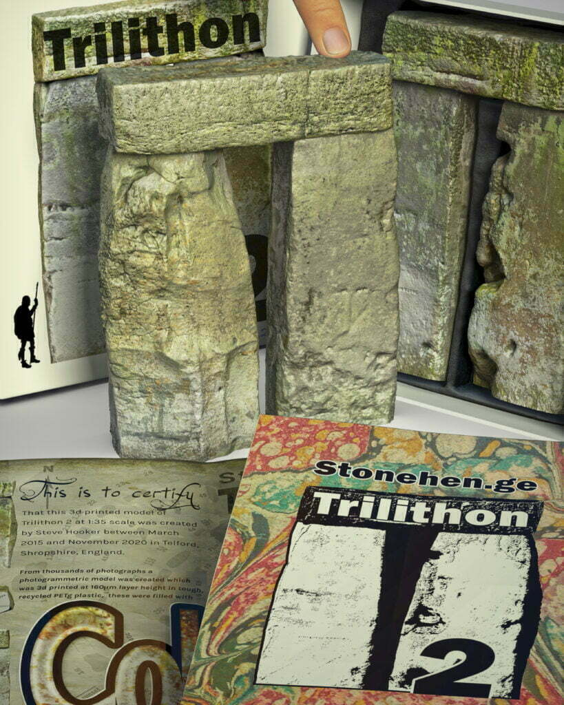 Buy Stonehenge Models: Stonehenge trilithon two model box set 35th scale with booklet portrait crops. caveman 819x1024  - 35th scale full colour pack shots - 35th scale full colour pack shots
