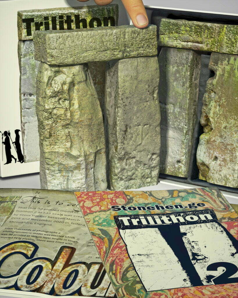 Buy Stonehenge Models: Stonehenge trilithon two model box set 35th scale with booklet portrait crops. druids 819x1024  - 35th scale full colour pack shots - 35th scale full colour pack shots