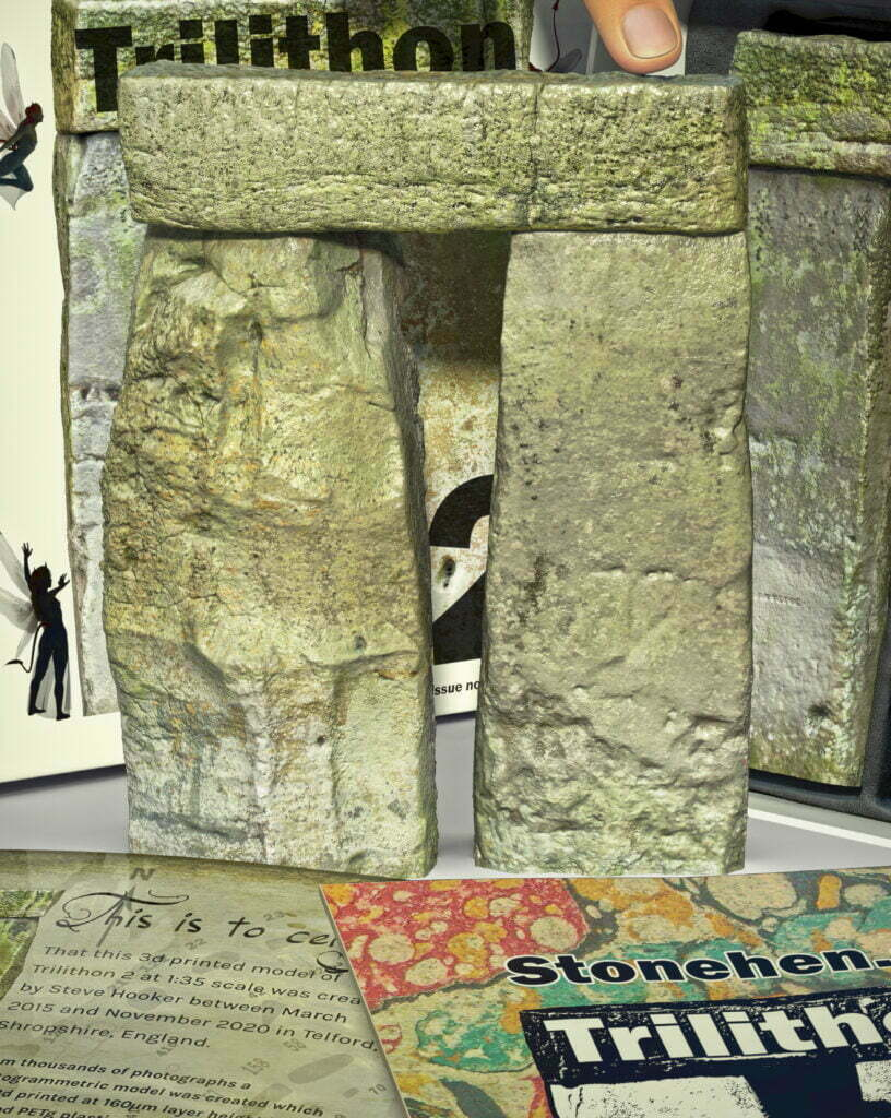 Buy Stonehenge Models: Stonehenge trilithon two model box set 35th scale with booklet portrait crops. fairies 816x1024  - 35th scale full colour pack shots - 35th scale full colour pack shots