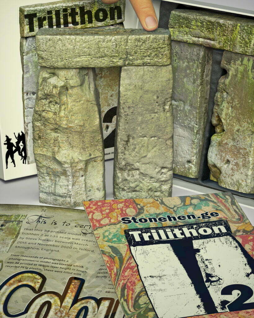 Buy Stonehenge Models: Stonehenge trilithon two model box set 35th scale with booklet portrait crops. witches 819x1024  - 35th scale full colour pack shots - 35th scale full colour pack shots