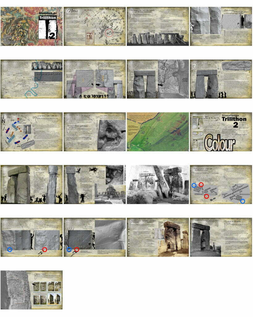 Buy Stonehenge Models: thumbnails of booklet v2 819x1024  - Study - Study