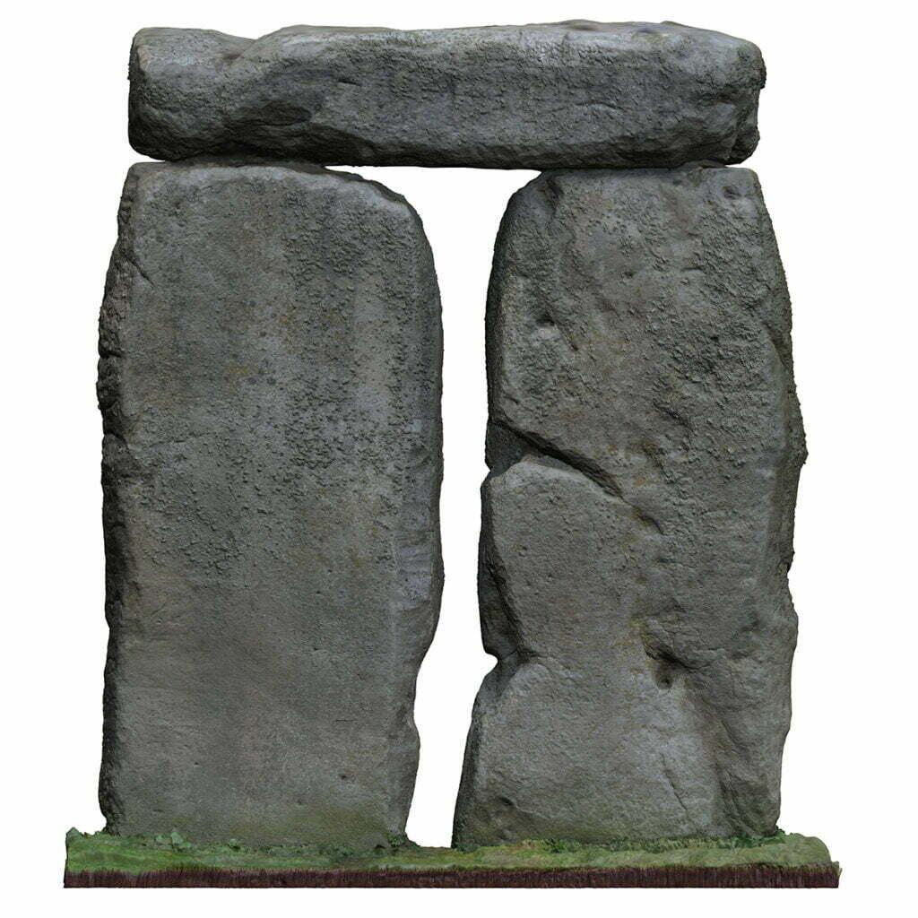 Buy Stonehenge Models: T4 inside small 1024x1024  - Trilithon Four of Stonehenge - Trilithon Four of Stonehenge
