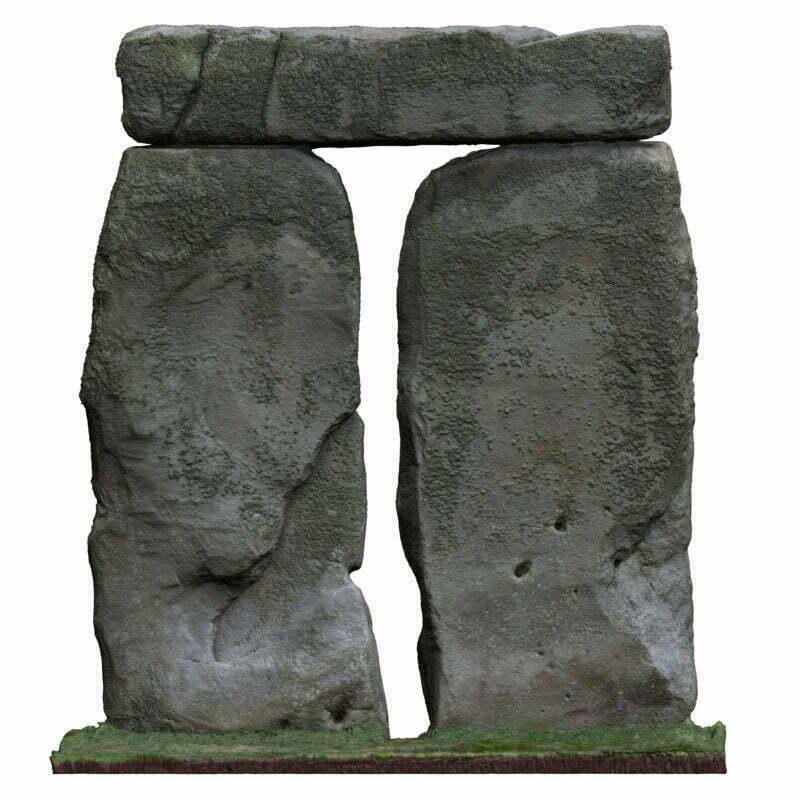Buy Stonehenge Models: T4 outside 800x800  - Trilithon Four of Stonehenge - Trilithon Four of Stonehenge